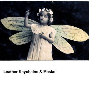 Leather Masks & Keychains